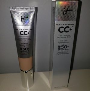 "It Cosmetics CC+ Cream ""Light"" BNIB!"